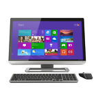 "Toshiba 23.0"" FHD Touch Desktop Core i3-3120M 6GB 1TB Webcam BT Win8