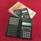 VINTAGE HEWLETT PACKARD HB-19B BUSINESS CONSULTANT II CALCULATOR W/MANUAL