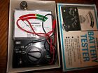 Vintage Micronta Battery Tester 22-030a in Box with Instruction Manual
