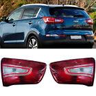 Genuine Rear trunk inside tail light lamp Assembly 2ea For Kia Sportage 2011+