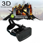 Virtual Reality VR 3D Video Game Glasses for Samsung Galaxy Note 4 3 2 HTC LG