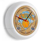 NY NEW YORK KNICKS BASKETBALL TEAM LOGO WALL CLOCK MAN CAVE BOYS ROOM HOME DECOR