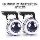 KT for Yamaha FZ1 Fazer 2006 2014 FZ1S 2015 LED Halo Eye HID Headlight assembly