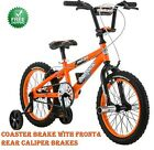 "16"" Mongoose Mutant Boys' Bike, Age 4 – 8, Orange"