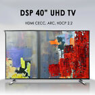 "Display Park New 40"" DSPS402UL UHD TV HDMI 60Hz 4K 3840x2160 LED TV Monitor"
