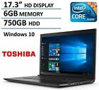 2016 Newest Toshiba C75 17.3 Premium High Performance Laptop PC, Intel I3-5005U