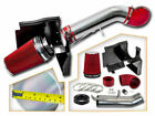 Cold Heat Shield Air Intake + RED Filter for 07 Silverado Sierra CLASSIC 1500 V8