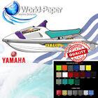 Yamaha Waveraider 700 1100 TEAL Seat Skin Cover 94 95 , Free Strap + Staples :)
