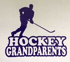 Hockey Grandparents decal sticker any size and any color