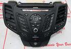 USED OEM 2014-2015 FORD FIESTA RADIO CONTROL PANEL D2BT-18K811-PA