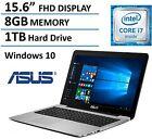 Asus Premium 15.6 Full HD High Performance Laptop 2016 Flagship Edition, Intel