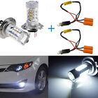 2PCS Error Free H7 80W CREE LED Kit High Beam Daytime Running Lights For BMW