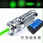 HOT High Power Laser Pominter Pen Green 532nm  Zoomable Burning Bea