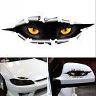 2pcs Car Styling Funny Cat Eyes Peeking 3D Car Sticker Waterproof Auto Access