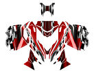 2013 2014 2015 Ski Doo REV XM Summit graphics Skidoo wrap kit #2300 Red