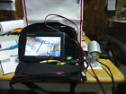 "CCTV PORABLE CANERA SECURITY 12 VOLT MONITOR 7""W/TWO BATTERY AND VOLT METER"