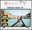 "New Yamakasi O48USUT 48"" UHDTV 60Hz 4K HDCP 2.2 MHL 10 Bit UHD LED TV Monitor"
