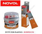 NOVOL BUMPER FIX Professional Filler PUTTY FOR PLASTICS good adhesion plastics