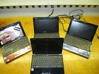 4 ASUS Eee PC for parts or repair.. cracked screens / Missing