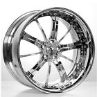"""(4pcs) 19"""" Staggered AC Forged Wheels Rims 315 CH 3 piece"""