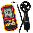 Digital Anemometer Wind Speed Meter Thermometer 0~45m/s Bar Graph Surf 32~113