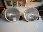 Cibie genuine Super BiOscar H4 lens reflectors NOS/NIB (pair) including H4 bulbs