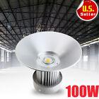 100 Watt LED High Bay Light Warehouse Super White Factory Industrial Grade Lamp