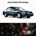 15 x White LED Interior Bulbs + License Plate Lights For 2004-2008 Nissan Maxima