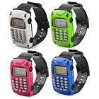 Home School Detachable Wristband Watch Car Design 8 Digit Electronic Calculator