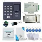 Fingerprint+RFID+Password Door Access Control Kit+Electric Lock+Remote+Doorbell