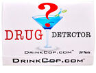 Spike Drink Tests Detects the Presence of ILLICIT DRUGS in a DRINK - DRINK COP
