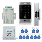 Waterproof Metal RFID Card Security Door Access Control System+Strike Lock+Card