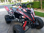 Yamaha Raptor 700 700R graphics 2013 2014 2015 custom deco kit #2500 Red
