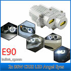 2x 80W CREE LED Angel Eye Halo Ring Marker Light Bulb Canbus for BMW E90 E91