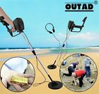 OUTAD Waterproof Gold Prospecting Metal Detector Pinpointing Beach Headphone