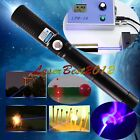 5WBX6-L 450nm Burning Blue Laser Pointer With 2 X 18650 Li Battery Burn Matches