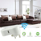 Wireless WiFi Remote Repeater Outlet Power Switch Socket Smart AC Plug UK Plug