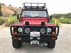 1997 Land Rover Defender  1997 Land Rover Defender 90 - 2 door, Hard Top, Automatic, AC, Portofino Red
