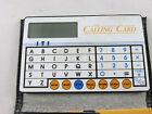 VTG INTERNATIONNAL TELISIS THE CALLING CARD POCKET CALCULATOR - INSTRUCTIONS