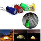 Mini Pocket Keychain Key Ring LED Flash Light Torch Lamp FlashLight Camping Tool