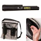 Pro-Pointer Ii And Camo Canvas Metal Detecting Finds Recovery Bag Pouch