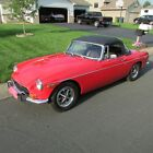 1972 MG MGB  1972 MGB,Roadster, Garage Find! Red,with Black Interior,Top,Boot,& Tonneau cover
