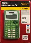 Texas Instruments TI-30X IIS Green Scientific Calculator New