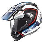 Arai XD4 Detour Blue Red W Pinlock Dual Sport Adventure Crossover Helmet