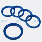 5 Pcs Centering Ring Spacer Rings for Aluminum Rims 72,0 - 57,1 mm Blue MAK TSW