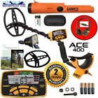 Garrett ACE 400 Metal Detector with DD Waterproof Search Coil And Pro Pointer AT
