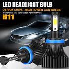 H11 H8 H9 1200W 180000LM OSRAM Car LED Headlight Kit Bulbs Low Beam 6000K White