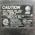 AT&T TP-M AC DC Power Supply Adapter Charger Output 9VAC 800mA