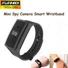 BLACK 1080P HD Smart Wristband Bracelet Spy Hidden sport Camera DigiCam Recorder