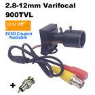 900tvl Varifocal Lens Mini Camera CCTV Surveillance System Security Home Sensor
